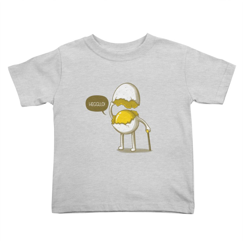 Heggllo! Kids Toddler T-Shirt by Elia Colombo