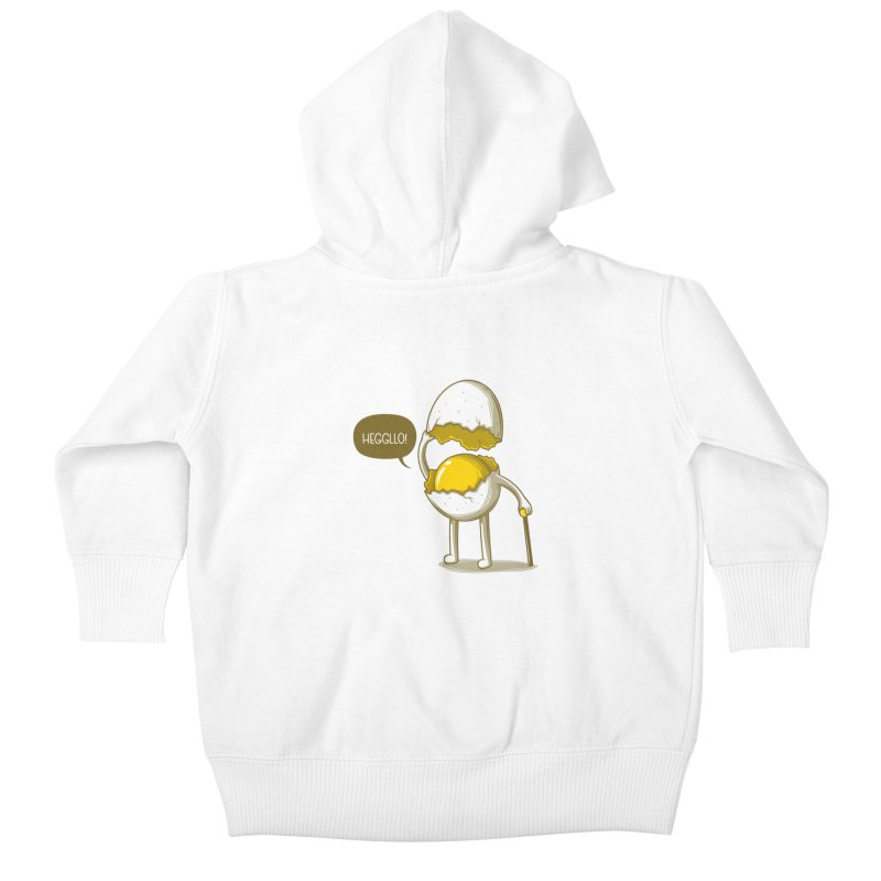 Heggllo! Kids Baby Zip-Up Hoody by Elia Colombo