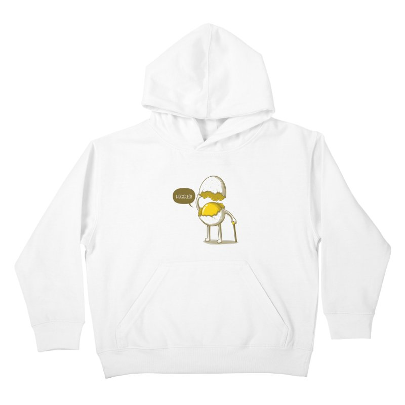 Heggllo! Kids Pullover Hoody by Elia Colombo