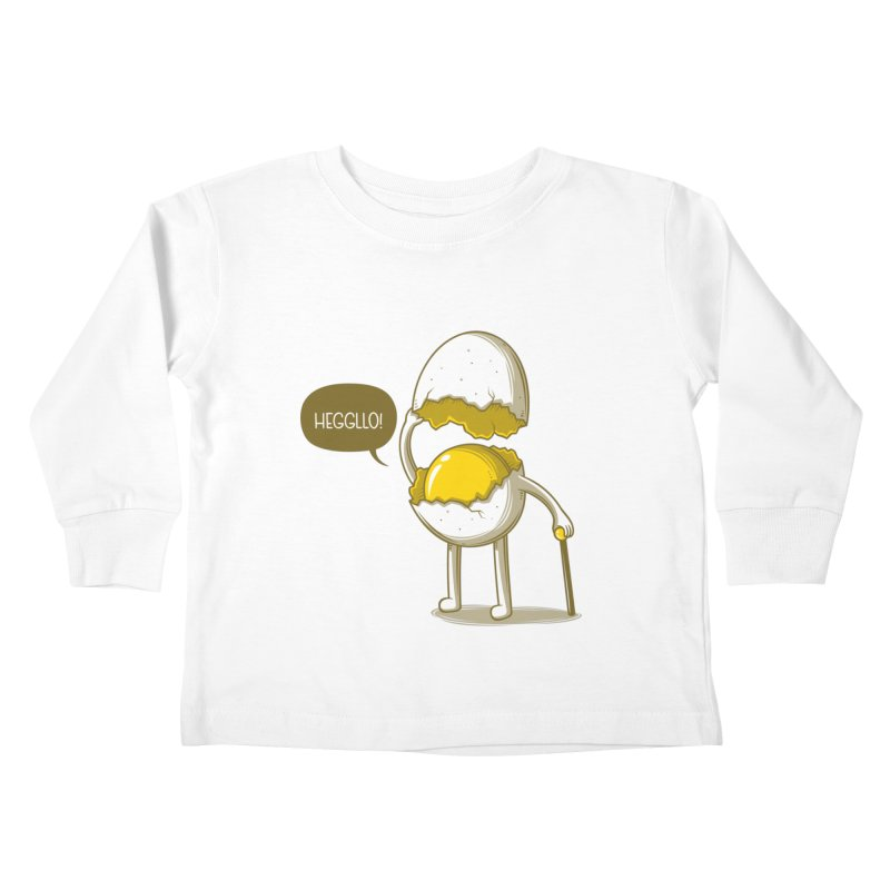 Heggllo! Kids Toddler Longsleeve T-Shirt by Elia Colombo
