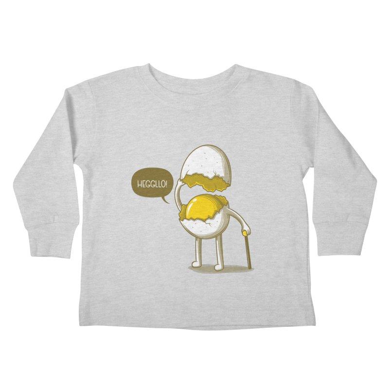 Heggllo! Kids Toddler Longsleeve T-Shirt by Elia Colombo