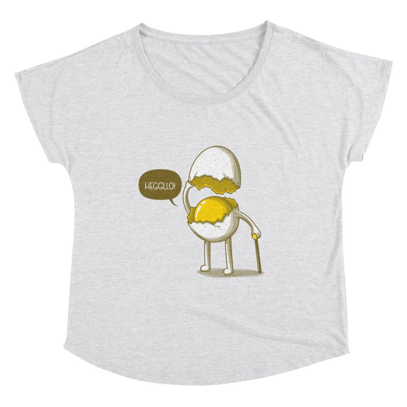 Heggllo! Women's Dolman Scoop Neck by Elia Colombo