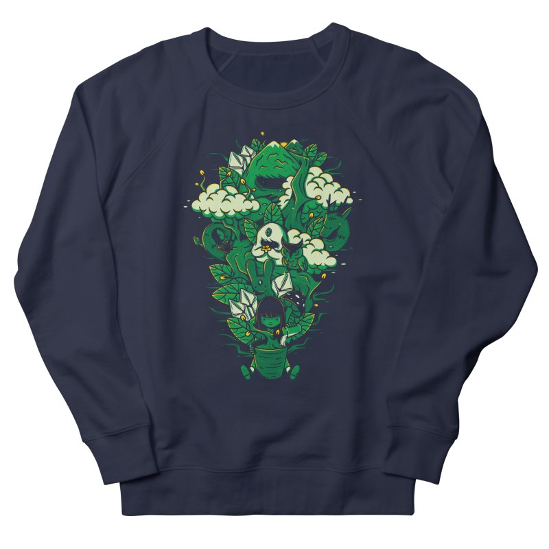 Miracle of life Men's French Terry Sweatshirt by Elia Colombo