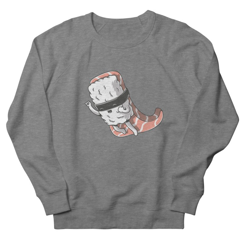 Super sushi Women's French Terry Sweatshirt by Elia Colombo