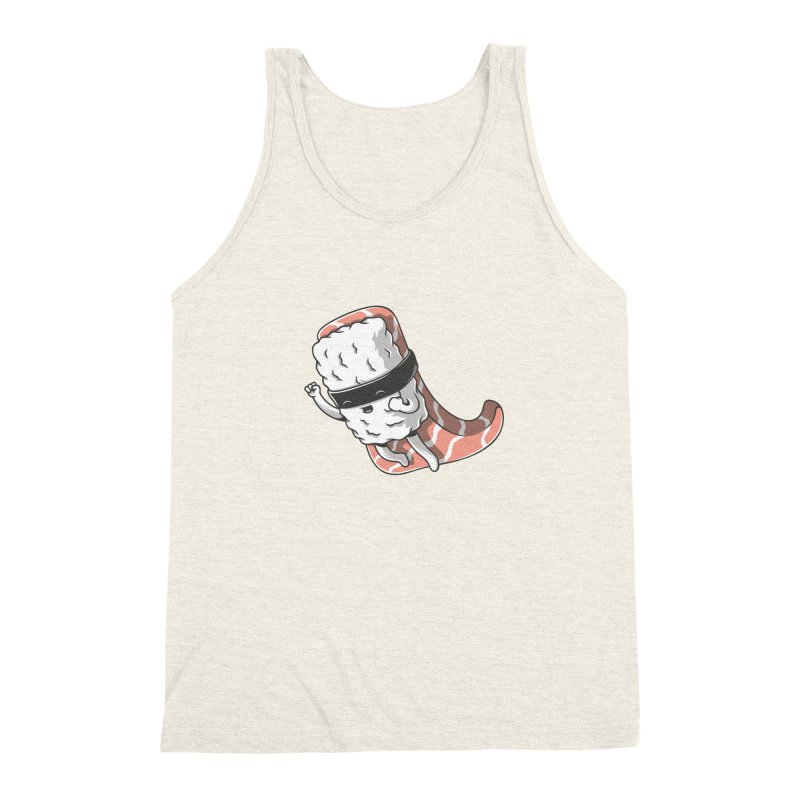 Super sushi Men's Triblend Tank by Elia Colombo