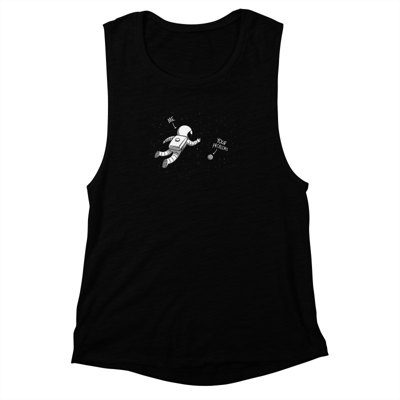 Human problems Women's Muscle Tank by Elia Colombo