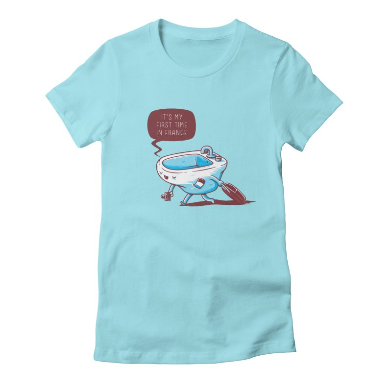 To France Women's Fitted T-Shirt by Elia Colombo
