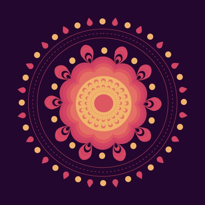 Lotus Flower Rangoli by eligodesign's Artist Shop