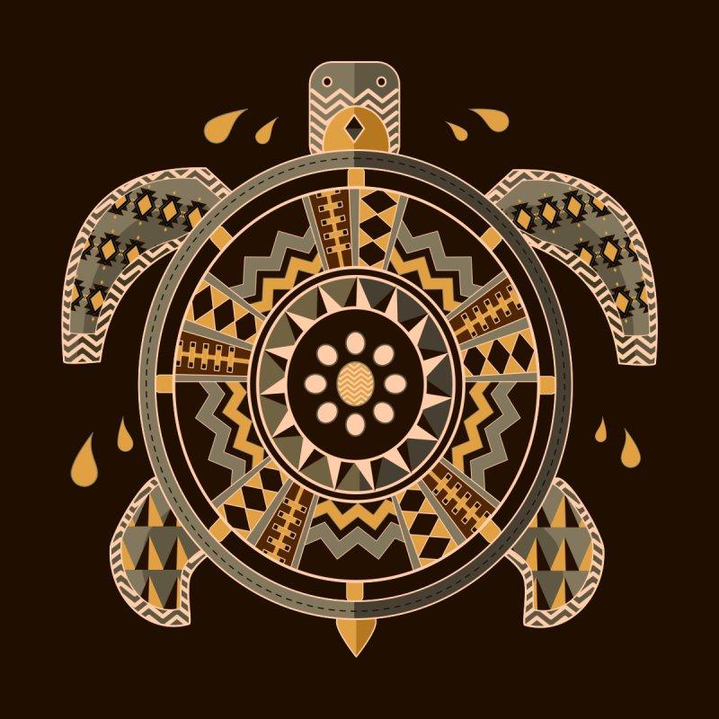 Aztec Turtle Men's T-Shirt by eligodesign's Artist Shop