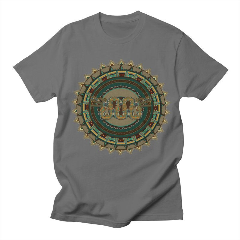 Quetzalcoatl Men's T-Shirt by eligodesign's Artist Shop