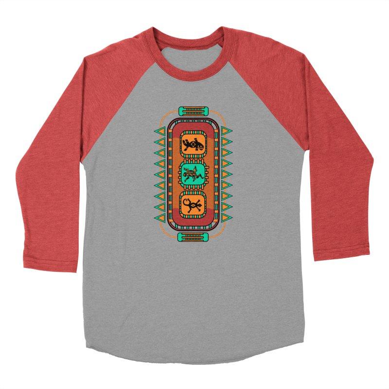 Lizard Glyphs Chest Plate Men's Longsleeve T-Shirt by eligodesign's Artist Shop
