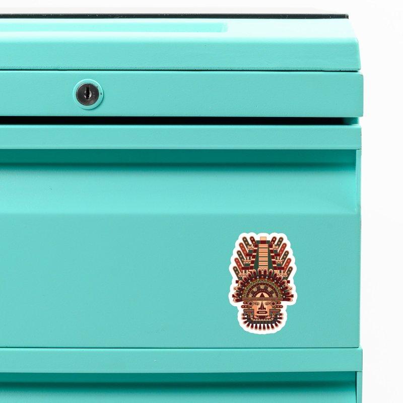 Mayan Deity Accessories Magnet by eligodesign's Artist Shop