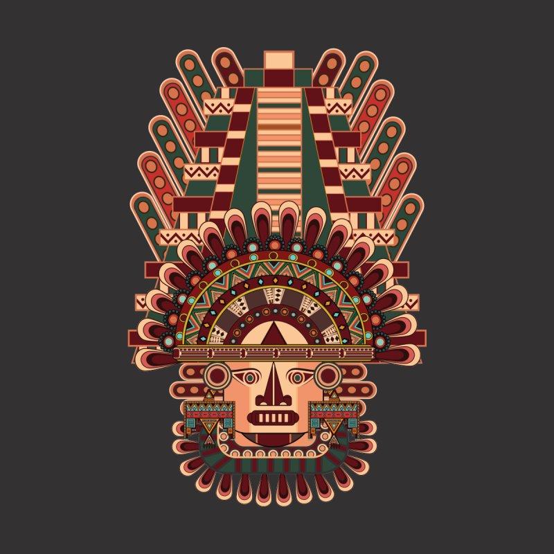 Mayan Deity Men's Longsleeve T-Shirt by eligodesign's Artist Shop