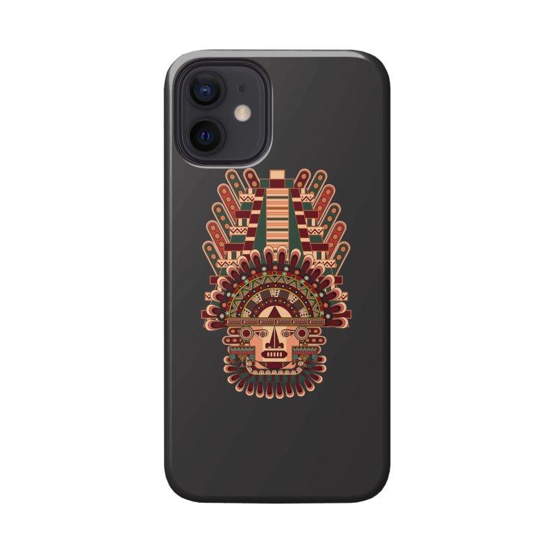 Mayan Deity Accessories Phone Case by eligodesign's Artist Shop
