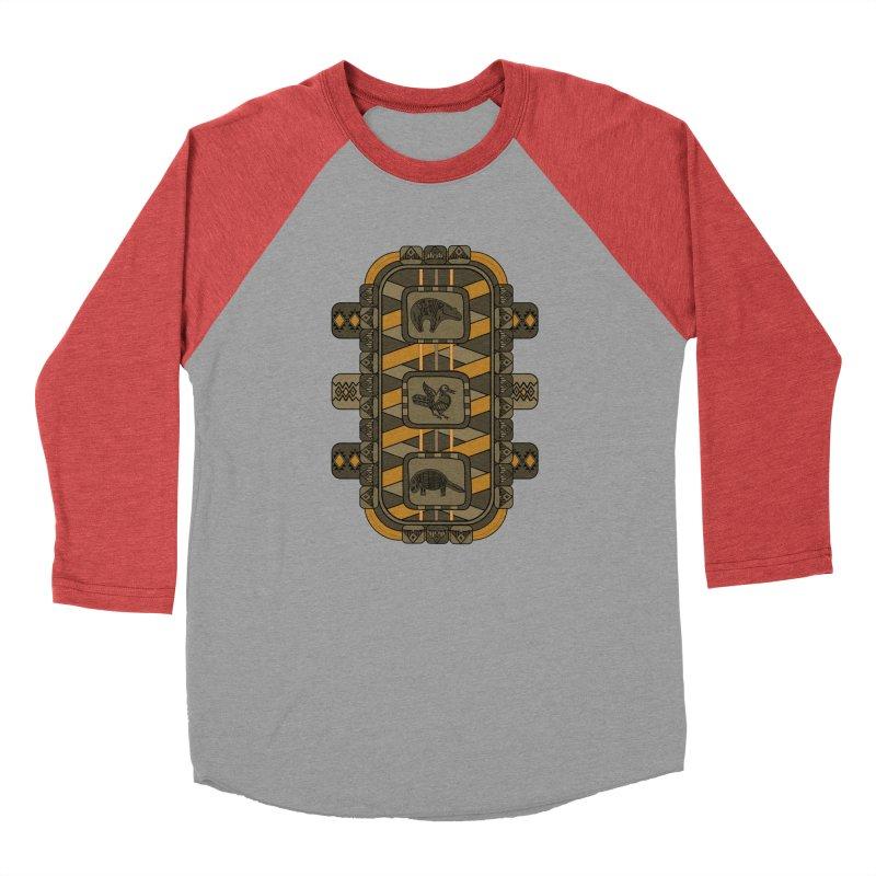 Animal Glyphs Chest Plate Men's Longsleeve T-Shirt by eligodesign's Artist Shop