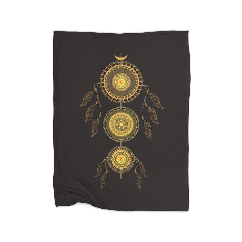 Dream Catcher Home Blanket by eligodesign's Artist Shop