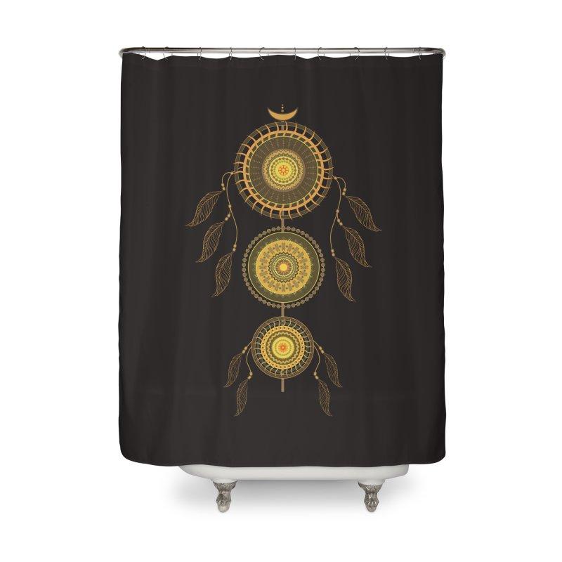 Dream Catcher Home Shower Curtain by eligodesign's Artist Shop