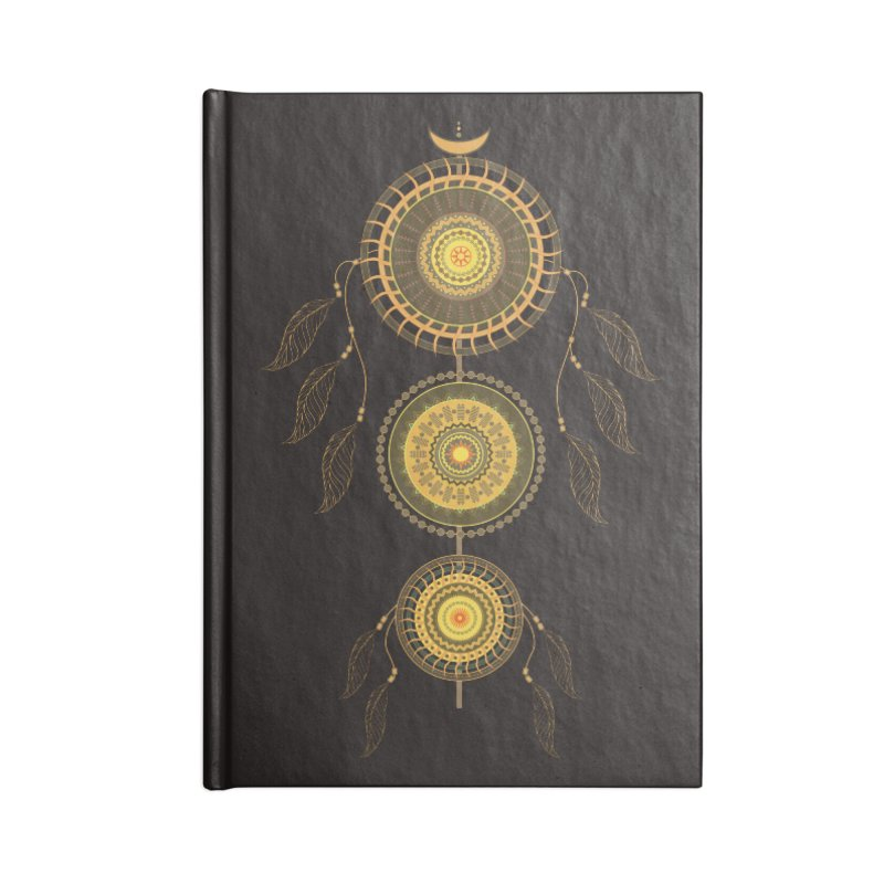 Dream Catcher Accessories Notebook by eligodesign's Artist Shop