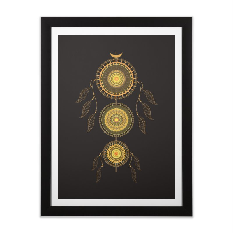Dream Catcher Home Framed Fine Art Print by eligodesign's Artist Shop