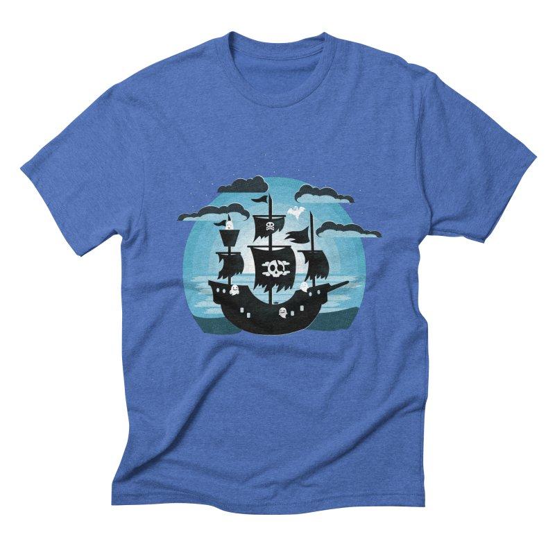 Ghost Ship Men's T-Shirt by eligodesign's Artist Shop