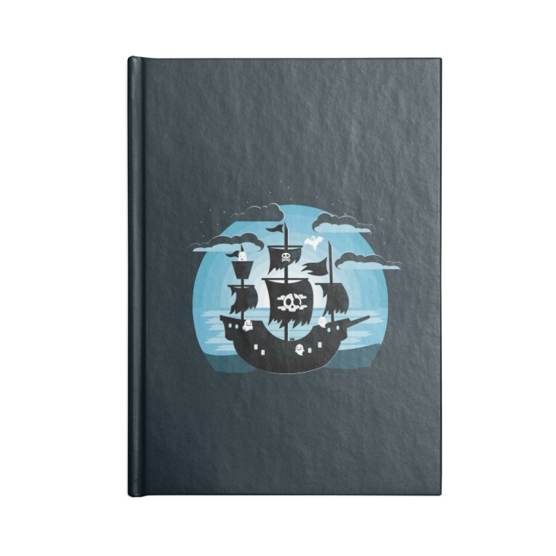 Ghost Ship Accessories Notebook by eligodesign's Artist Shop