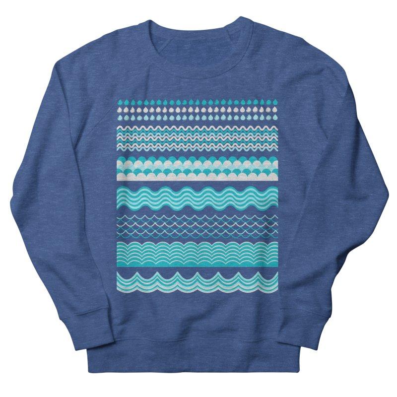 Water Shapes Men's Sweatshirt by eligodesign's Artist Shop