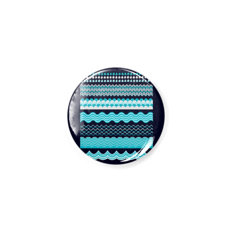 Water Shapes Accessories Button by eligodesign's Artist Shop