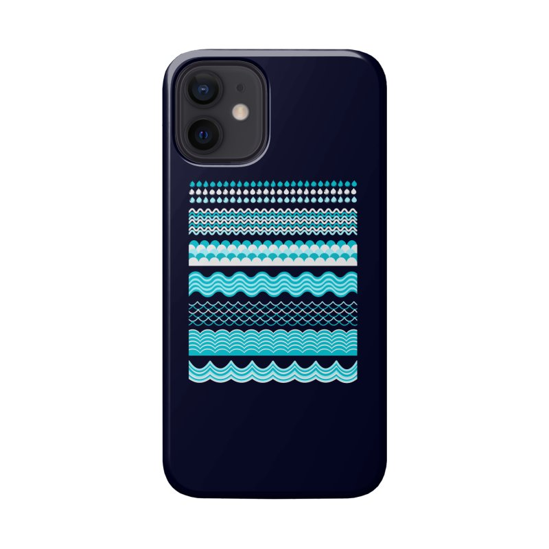 Water Shapes Accessories Phone Case by eligodesign's Artist Shop