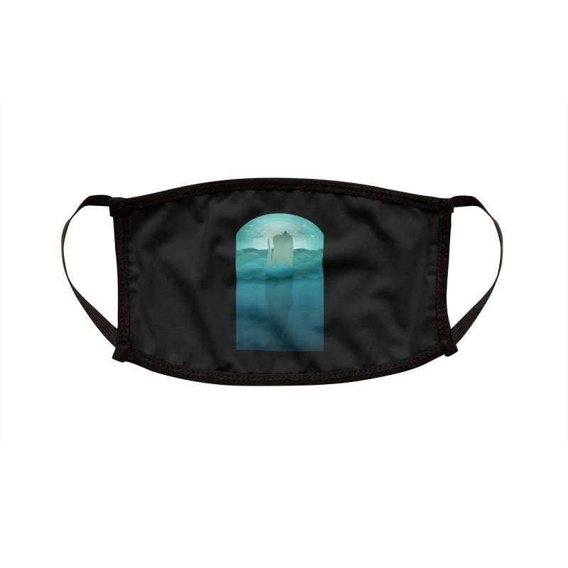 Playful Whale Accessories Face Mask by eligodesign's Artist Shop