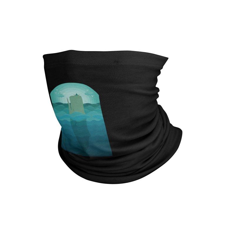Playful Whale Accessories Neck Gaiter by eligodesign's Artist Shop