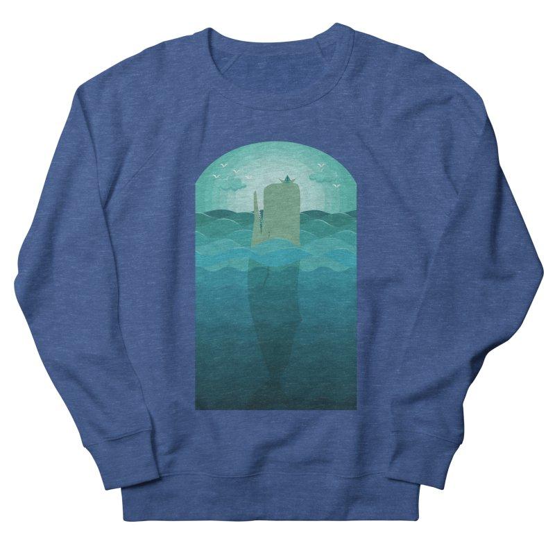 Playful Whale Men's Sweatshirt by eligodesign's Artist Shop