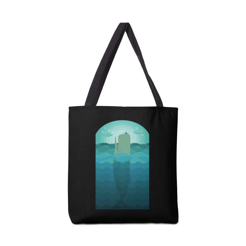 Playful Whale Accessories Bag by eligodesign's Artist Shop