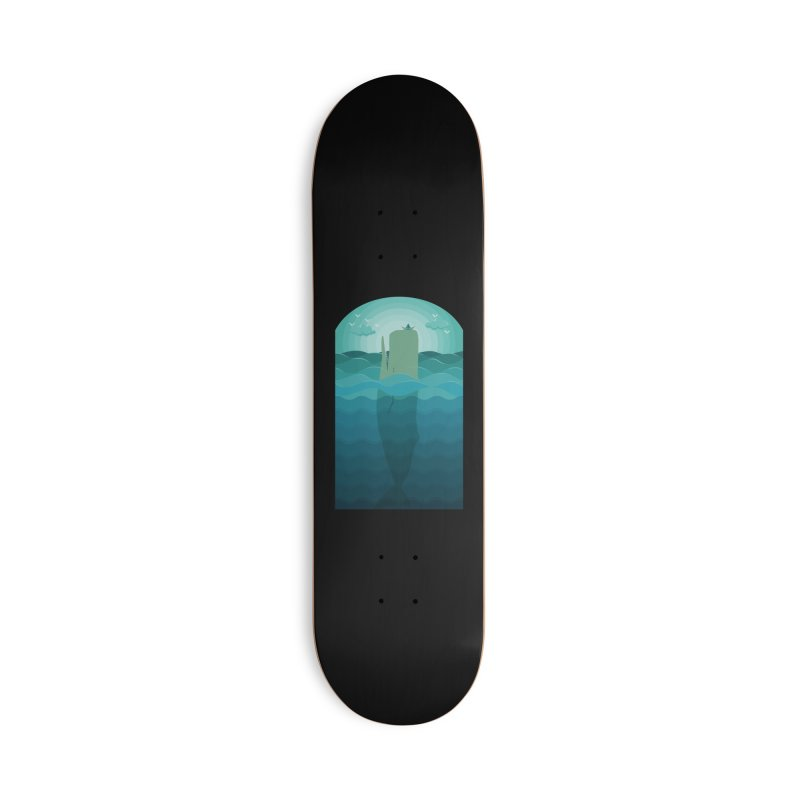 Playful Whale Accessories Skateboard by eligodesign's Artist Shop