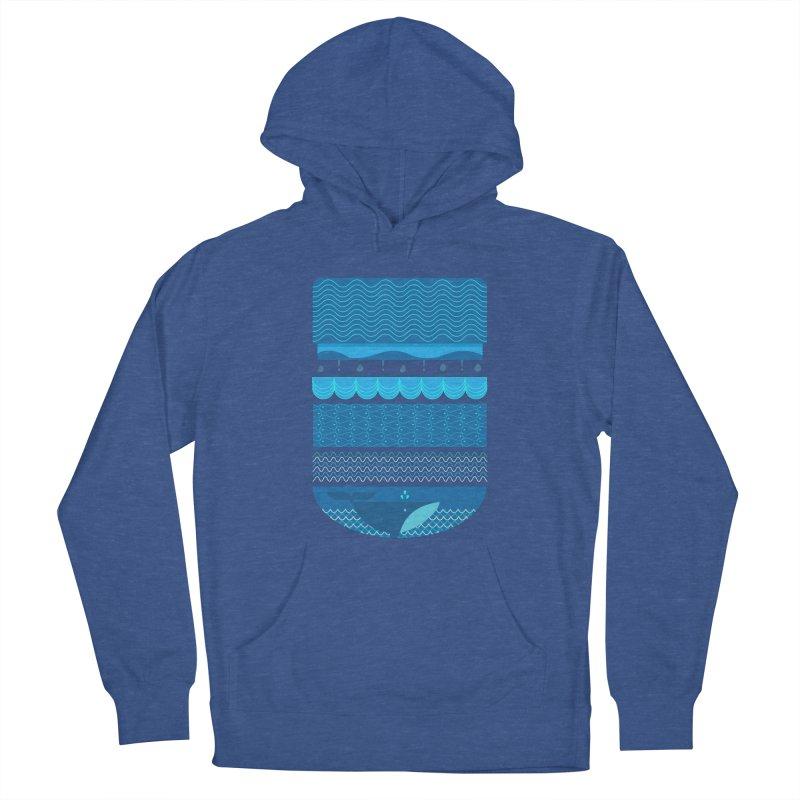 Ocean Theme Women's Pullover Hoody by eligodesign's Artist Shop