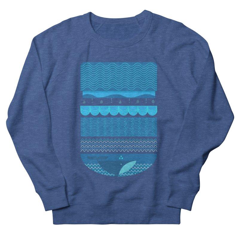 Ocean Theme Men's Sweatshirt by eligodesign's Artist Shop