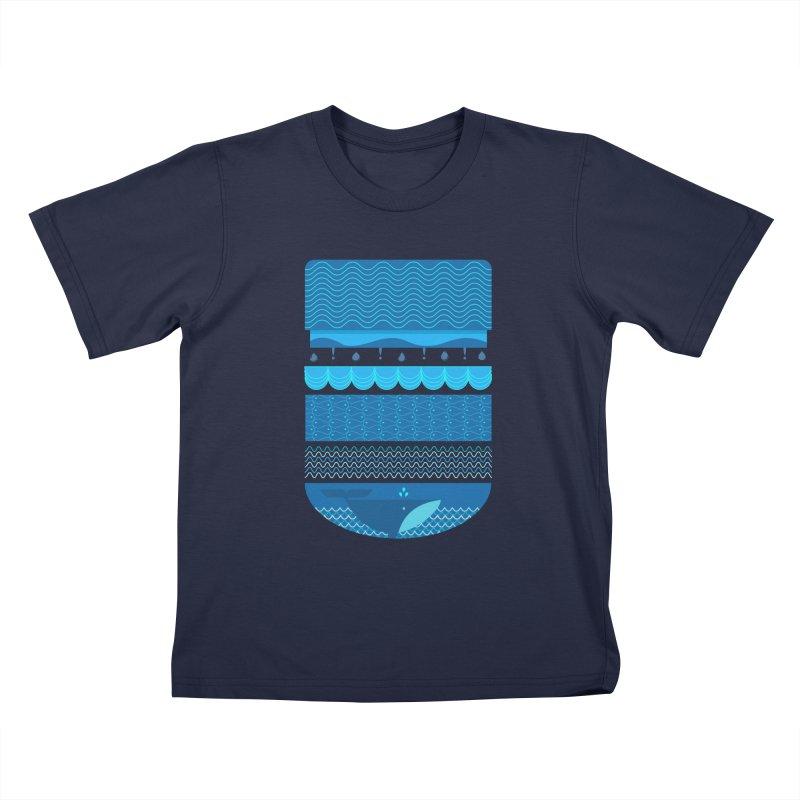 Ocean Theme Kids T-Shirt by eligodesign's Artist Shop