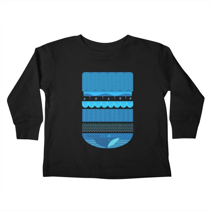Ocean Theme Kids Toddler Longsleeve T-Shirt by eligodesign's Artist Shop