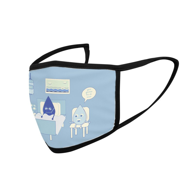 Hospitalized Accessories Face Mask by eligodesign's Artist Shop