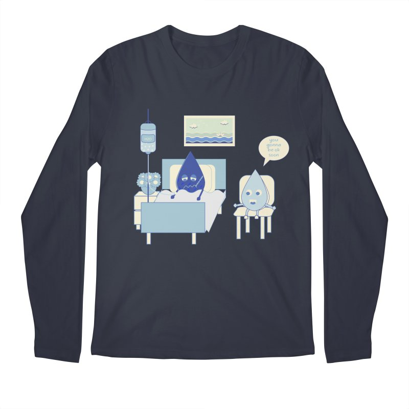 Hospitalized Men's Longsleeve T-Shirt by eligodesign's Artist Shop