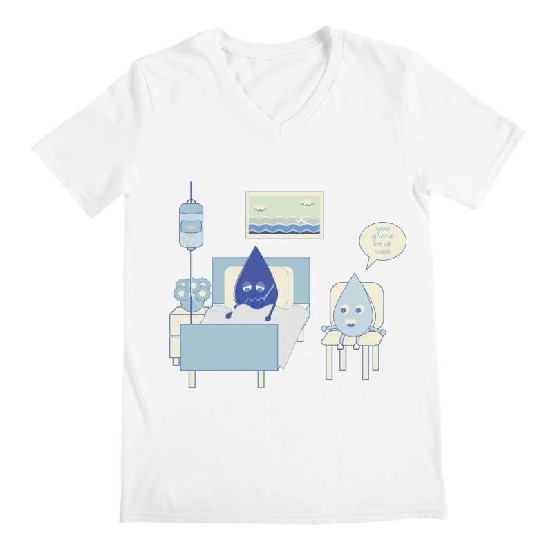 Hospitalized Men's V-Neck by eligodesign's Artist Shop