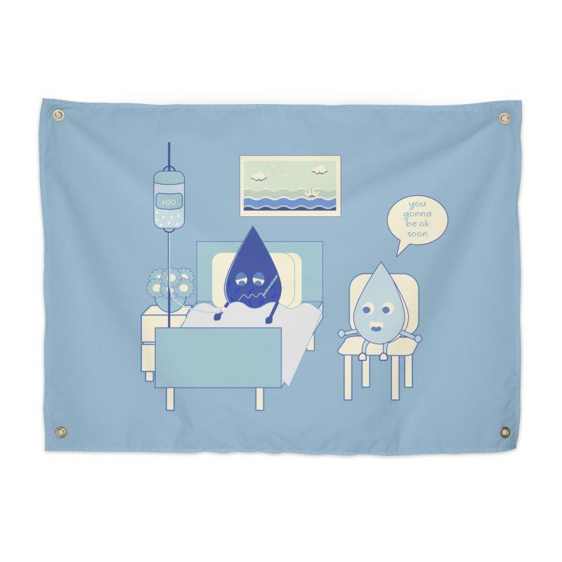 Hospitalized Home Tapestry by eligodesign's Artist Shop