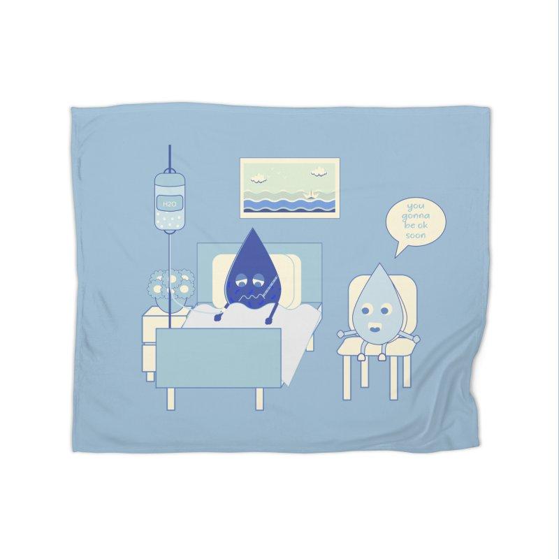 Hospitalized Home Blanket by eligodesign's Artist Shop