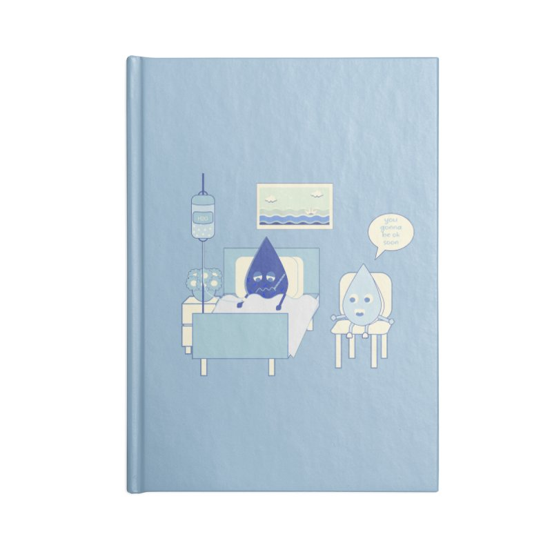 Hospitalized Accessories Notebook by eligodesign's Artist Shop