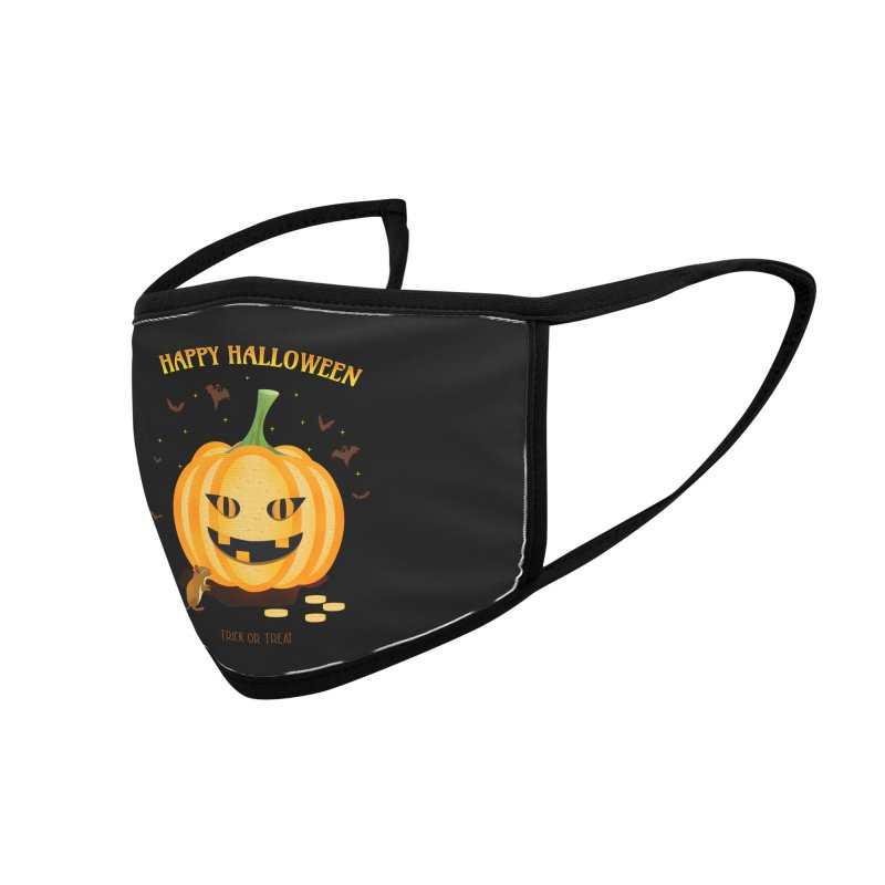 Trick or Treat Accessories Face Mask by eligodesign's Artist Shop