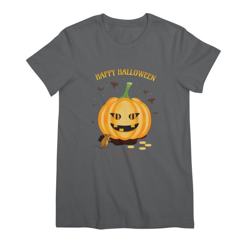 Trick or Treat Women's T-Shirt by eligodesign's Artist Shop