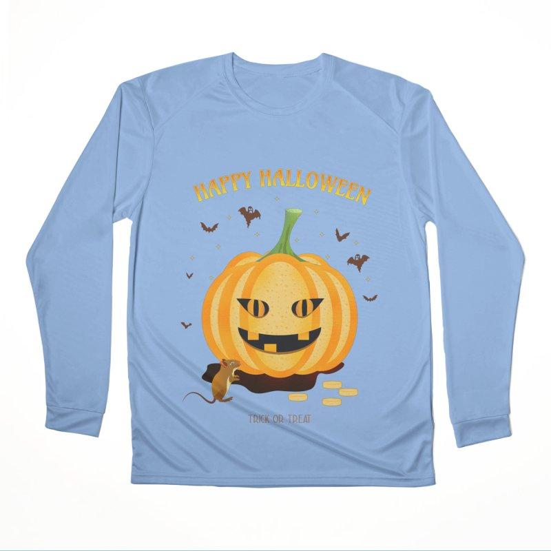 Trick or Treat Women's Longsleeve T-Shirt by eligodesign's Artist Shop