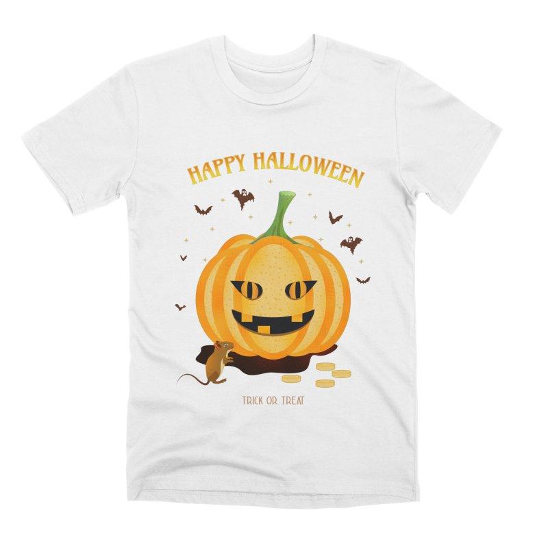 Trick or Treat Men's T-Shirt by eligodesign's Artist Shop