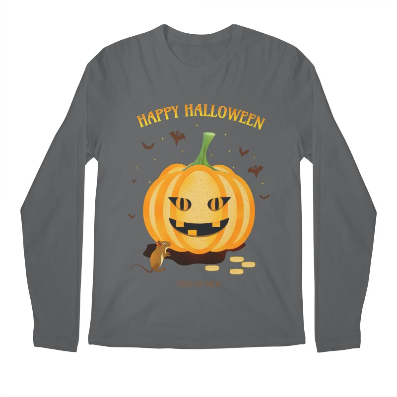Trick or Treat Men's Longsleeve T-Shirt by eligodesign's Artist Shop