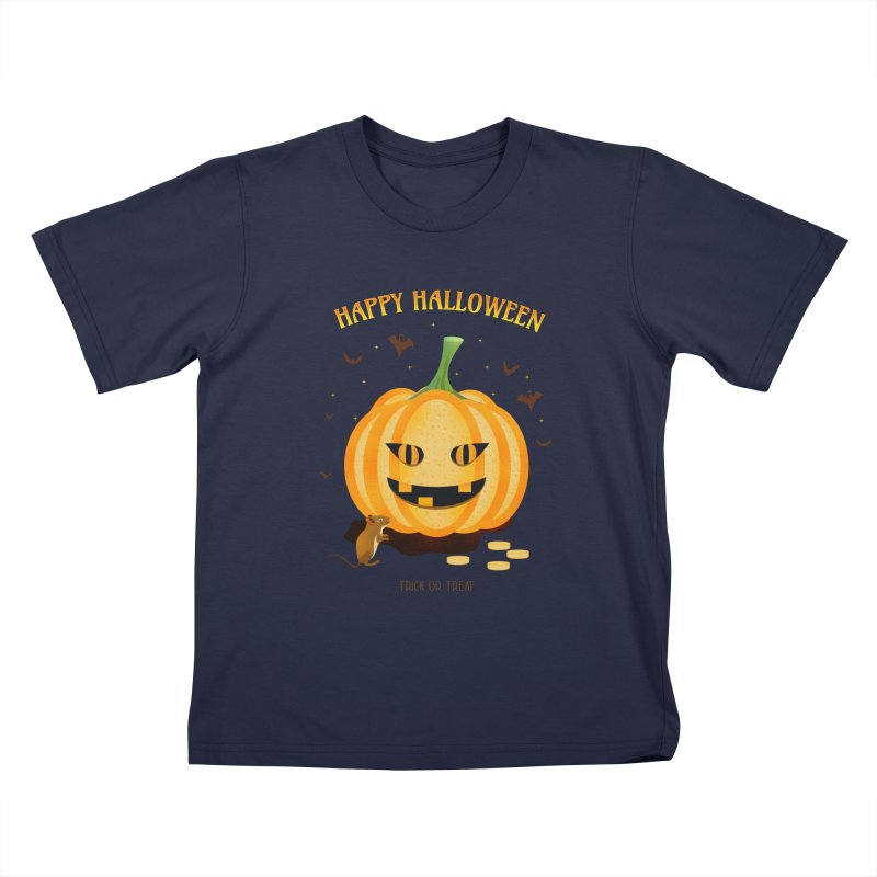 Trick or Treat Kids T-Shirt by eligodesign's Artist Shop