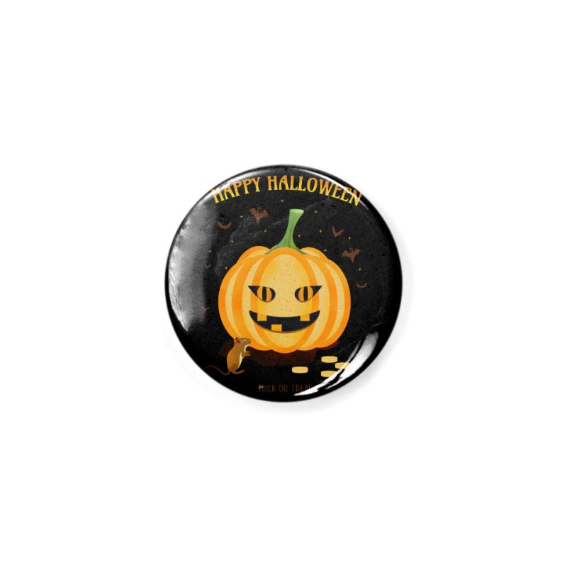 Trick or Treat Accessories Button by eligodesign's Artist Shop